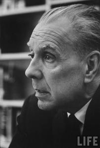 Foto de J. L. Borges: revista «Life»