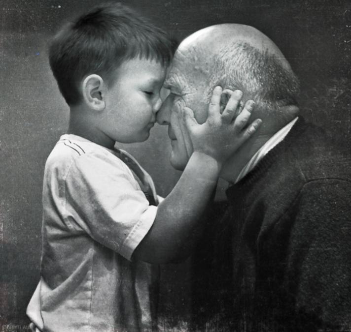 avó e neto, grandpa, grandfather and grandson, love