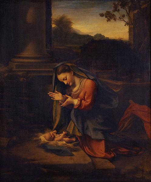 497px-Correggio_-_La_Vergine_che_adora_il_Bambino_-_Google_Art_Project